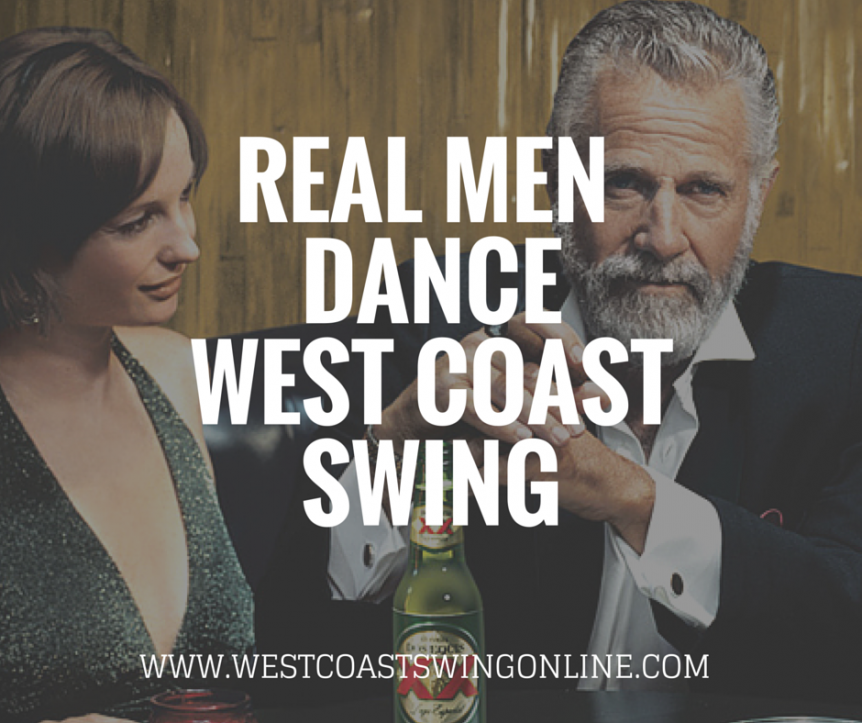 real men dance west coast swing