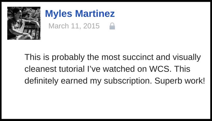 myles testimonial