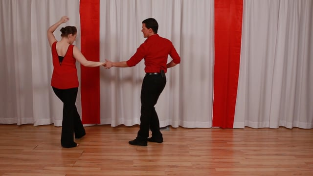 Lady's Anchor Step Variation