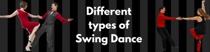 Different types of swing dance