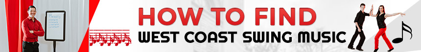 how to find west coast swing music