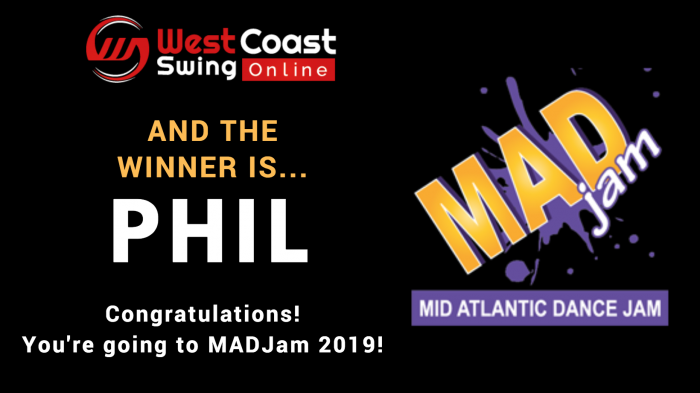 MAD Jam West Coast Swing