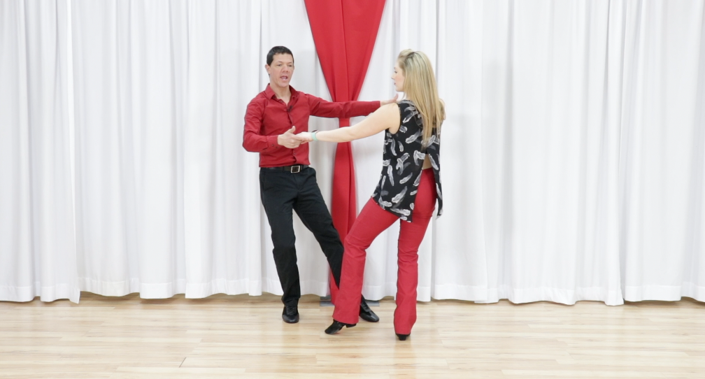 west coast swing basic dance steps