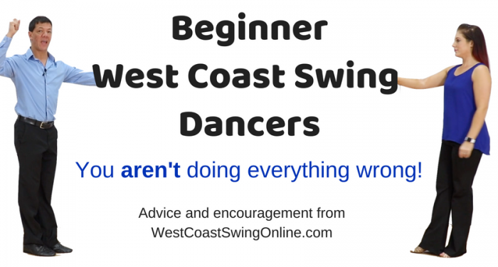 Beginner west coast swing struggles