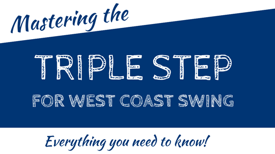 west coast swing triple step