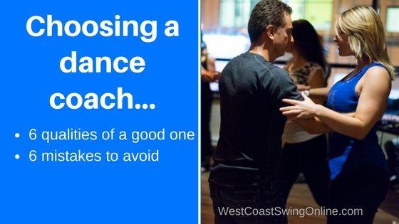 choosing a dance coach