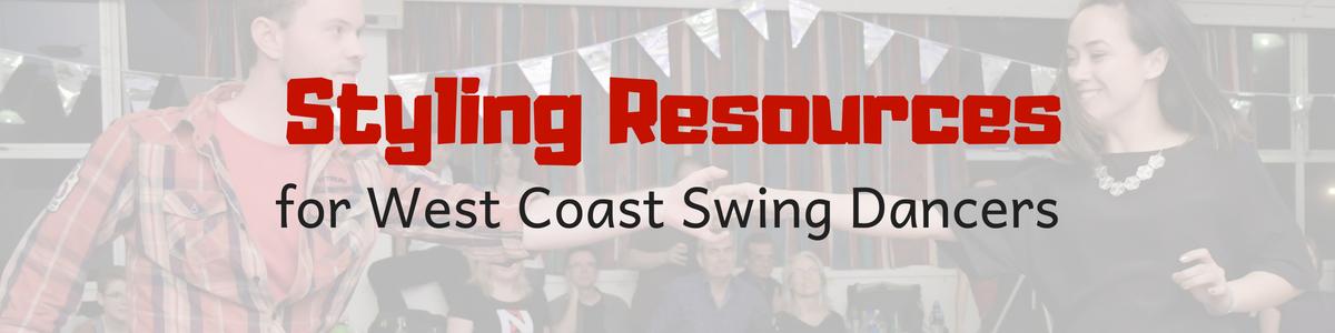 West Coast Swing Styling